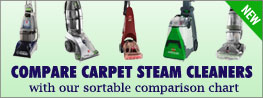 carpet steam cleaner comparison