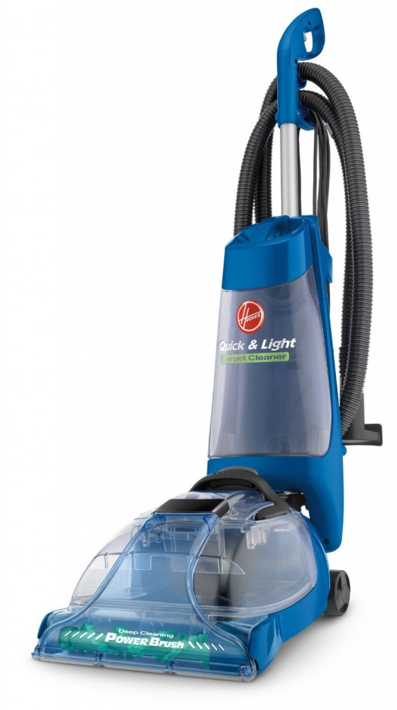 Hoover Quick and Light Carpet Cleaner w Powerbrush FH50035